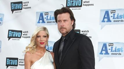 News video: Tori Spelling Gives an Update on Her Troubled Marriage